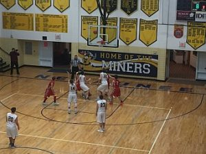 The Negaunee Miners Boys Basketball team won 62-42 over the Westwood Patriots on Sunny.FM. GO MINERS!!