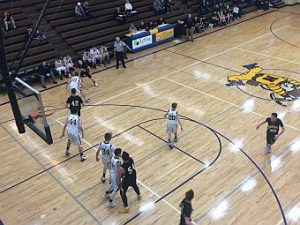 Negaunee Miners Boys JV Basketball VS Iron Mountain Mountaineers 02/2/1/ on Sunny.FM