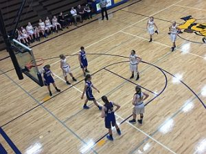 The Negaunee Miners Girls Basketball VS Calumet Copper Kings 02/07/17