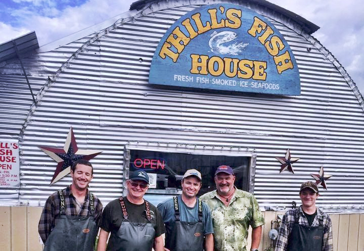 Upbargains daily deal f eb 23 10 certificates to thill for Thill s fish house
