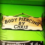 Safe piercing with Chris at Aurora Piercing Boutique