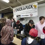 There was a lot of interest in Chuck-A-Puck.