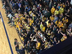Negaunee Miners Girls Basketball VS Ishpeming Hematites on Sunny.FM 03/03/17