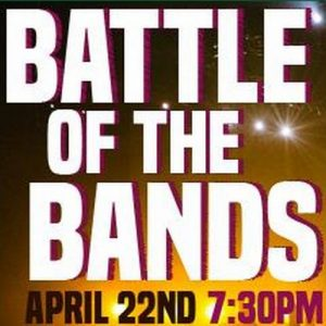 Forest Robert Theatre Battle of the Bands April 22 7:30 pm