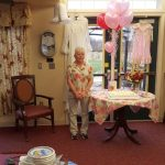 We happened to drop by on a very exiting day. This Newberry Assisted Living Community member was getting married!