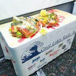 The two Super One Foods $100 value Gift Baskets