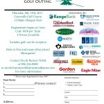 The 2017 Bay Cliff Health Camp Golf Outing Brochure