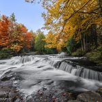 Bond Falls during autumn in Paulding, MI last October - Saddleback Photography