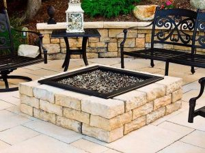 Fraco Inc Marquette Michigan rosetta square fire pit