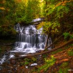 A classic shot of Wagner Falls in Munising, MI - Jessica Dobbs - Intrique Photography