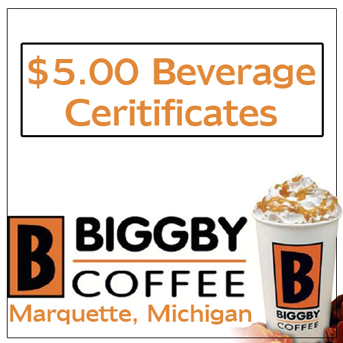 Biggby Coffee Beverage Card