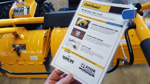 Break Ground This Spring with the Cub Cadet RT 35 Rear-Tine Tiller