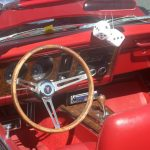 The interior of these old cars is just amazing!