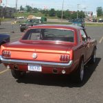 Didn't see too many Classic Ford Mustangs