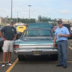 Bill and Todd from Great Lakes Radio at the Car Show