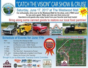 "Annual ""Catch The Vision"" Car Show and Cruise."