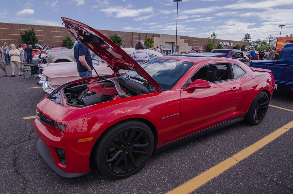 It Was A Smokin Catch The Vision Car Show And Cruise From The Marquette Township Business