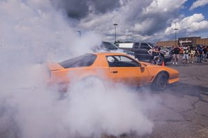 Kyle Fenton's sweet Camaro was burning things up