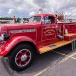 The classic Marquette Township Fire truck!