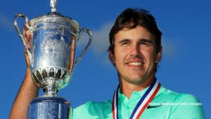 U.S. Open Champion Brooks Koepka ties record with 16-under par.