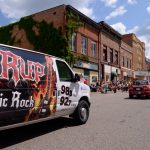 We had the WRUP Van, The Fox Sports Mini Car & the Sunny Van in the parade.