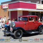 Many Classic Cars in the Ishpeming 4th of July Parade