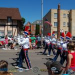 Parade Ends with Blue Notes Drum & Bugle Corps