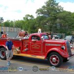 Marquette Township Classic Fire Truck