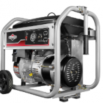 This portable generator is easy to run and stays running for 8 hours at 50% load
