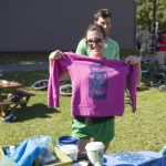 Bring your own cotton shirt for in site screen printing!