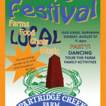 Attend the 1st Annual Partridge Farm Harvest Festival