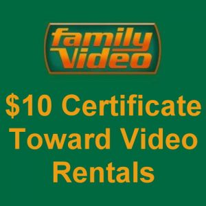 Save on your movie rentals at Family Video.