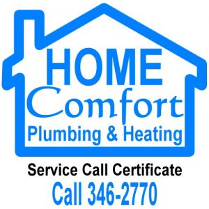 Home Comfort Plumbing and Heating.
