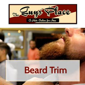 Get a beard trim from The Guys' Place in Marquette