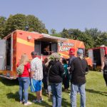 And of course, people had to eat! Superior Mobile Koney was there to help