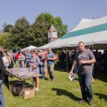 Guests could pick up a brochure complete with each brewery, their location in the festival and what they were serving.
