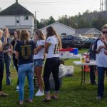 Negaunee Miners fans tailgating 09/15/17