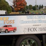 Fox Negaunee was going give away a truck for a lucky throw.