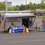 We had a ham radio booth too!