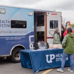 Thanks to UP Health Systems for coming out today
