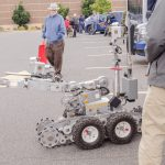 The bomb squad robot