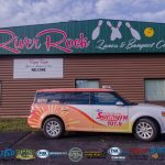 Our new Sunny Flex outside River Rock Lanes.