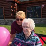Susan and Betty at Freighter View Assisted Living Community.