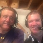 Mark Evans and Gregg Nelson the voices of Negaunee Miner Football on Sunny.FM.