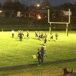 Negaunee Miners convert on 3rd down 09/22/17 on Sunny.FM.