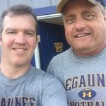 Mark Evans and Gregg Nelson the voices of Negaunee Football on Sunny.FM.