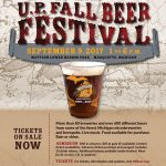 Get down to Mattson Lower Harbor for the 9th Annual U.P. Fall Beer Festival