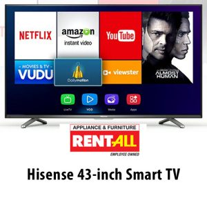 Buy a Hisense 43-in TV from Applicance & Furniture Rent-All on UPBargains.com!