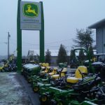 Opening just in time to pick up some new snow removal equipment.