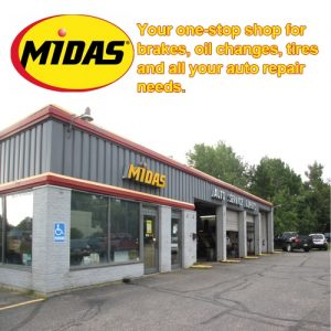 Midas is located at 2293 US-41 in Marquette, Michigan.